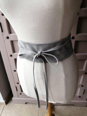 Genuine Leather Cinturón pélvico gris claro