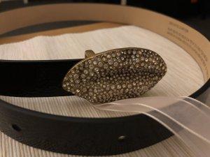Giambattista valli Tailleriem zwart Leer