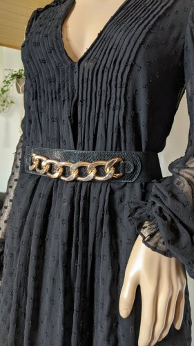 Zara Waist Belt black-gold-colored