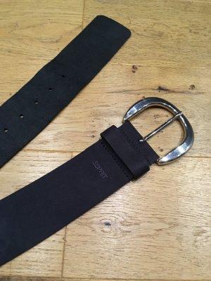 Taillengürtel schwarz mit Silber schnalle neu von Esprit