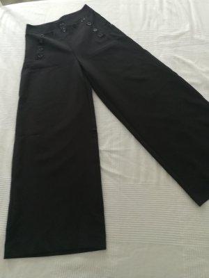 Marlene Dietrich broek zwart Gemengd weefsel