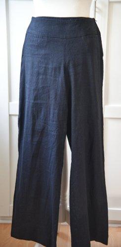 H&M Pantalon en lin noir