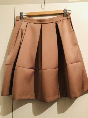 Donna by hallhuber Jupe à plis chameau polyester