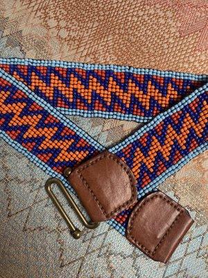 Waist Belt orange-light blue
