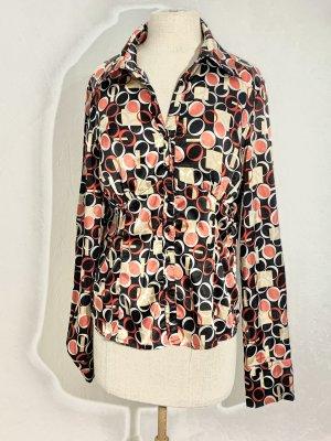 Fashion Elle Blusa brillante multicolore
