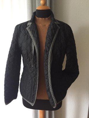Gabriele Strehle Jeans Veste matelassée noir-gris anthracite
