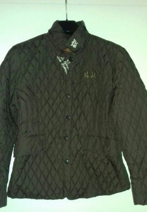 La Martina Quilted Jacket brown synthetic fibre