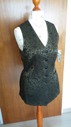 Laurèl Omkeerbaar vest brons-zwart
