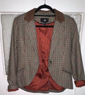 Taillierter Blazer aus Wolle Mischung