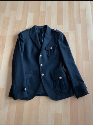 Made in Italy Tuxedo Blazer black-gold-colored