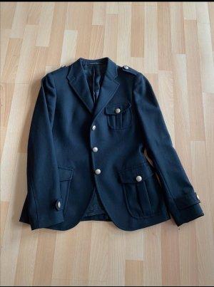 Taillierter Blazer mit Metall Knöpfen, Größe M, Blogger Blazer