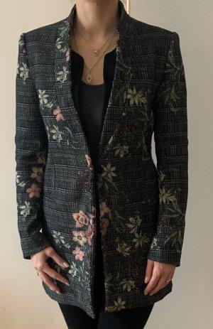 Zara Abrigo corto multicolor