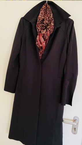 Clothes Between-Seasons-Coat black polyester