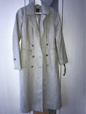 Primark Wollen jas lichtgrijs