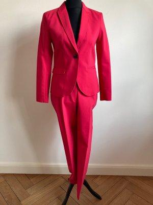 H&M Blazer en laine rose coton