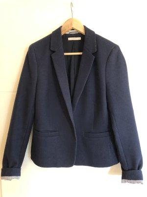 Esprit Blazer in maglia blu scuro Poliestere