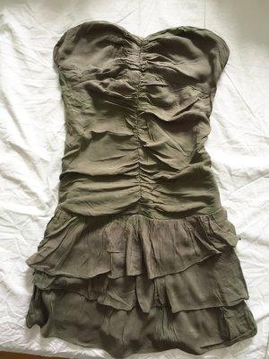 Tailliertes Bandeau-Kleid mit Volants NEU #Tally Weijl