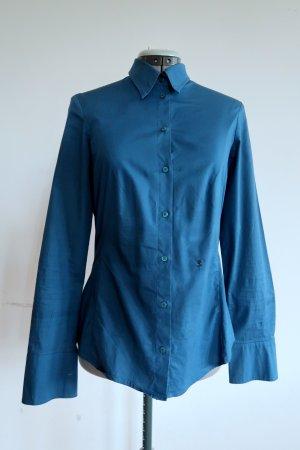 tailliertes Blusenhemd von Seidensticker petrol Gr. 38