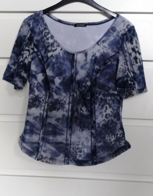 Monari Short Sleeved Blouse multicolored polyester