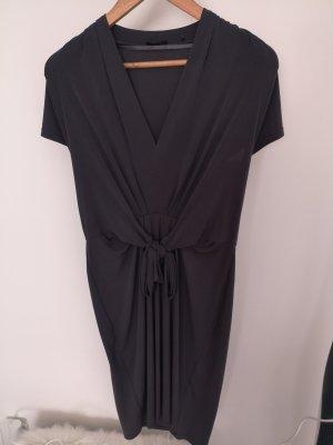 Tailliertes graues Kleid, Esprit collection