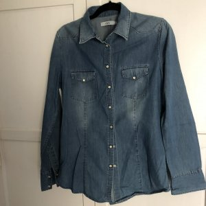 0039 Italy Denim Shirt blue denim