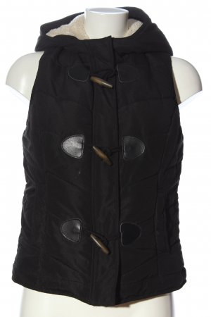 Taily Weijl Down Vest black quilting pattern casual look