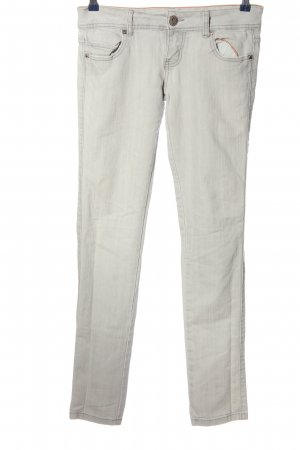 Taily Weijl Five-Pocket Trousers light grey casual look