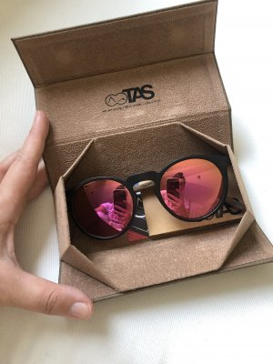 Take a Shot Okrągłe okulary przeciwsłoneczne brązowy-różowy