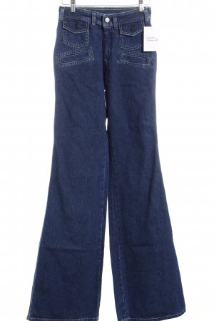 Take Two Boot Cut Jeans blau Casual-Look