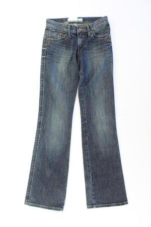 Take Two Jeans bootcut bleu-bleu fluo-bleu foncé-bleu azur coton
