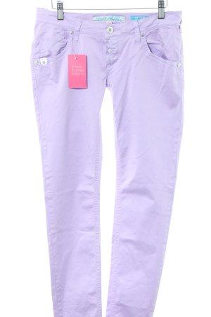 Take Two Pantalone cinque tasche lilla stile casual