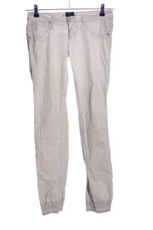 Take Two Pantalone a vita alta grigio chiaro stile casual