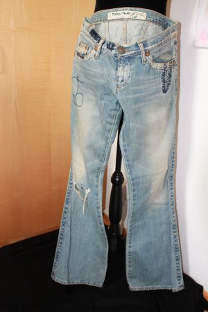 Take Two Low Rise Jeans steel blue