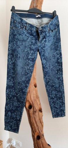 Take Two Pantalone elasticizzato blu-blu scuro