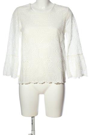 Take Two Camicetta a maniche lunghe bianco modello web stile professionale