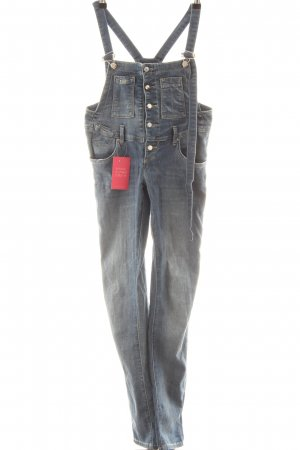 Take Two Jeans met bovenstuk blauw casual uitstraling
