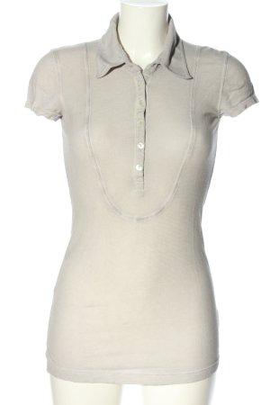 Take Two Camicia lunga grigio chiaro stile casual