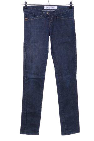 Take Two Jeans a sigaretta blu stile casual