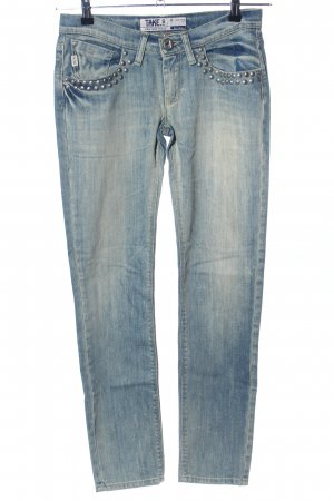 Take Two Slim Jeans blau Casual-Look