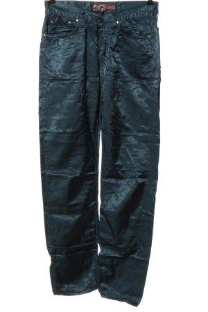 Take Two Pantalone jersey blu stile casual
