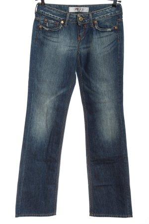 Take Two Jeansy z prostymi nogawkami niebieski W stylu casual