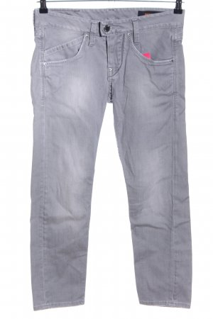 Takeshy Kurosawa Slim Jeans light grey casual look