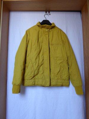Takko Short Jacket dark yellow cotton