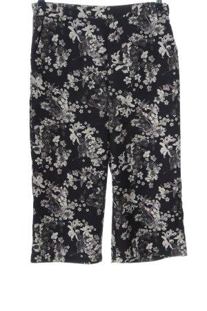 Takko Fashion Luźne spodnie Wzór w kwiaty W stylu casual
