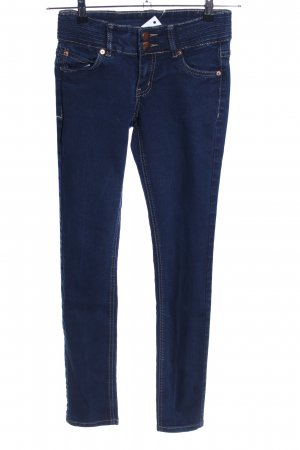 Takko Fashion Jeans vita bassa blu stile casual