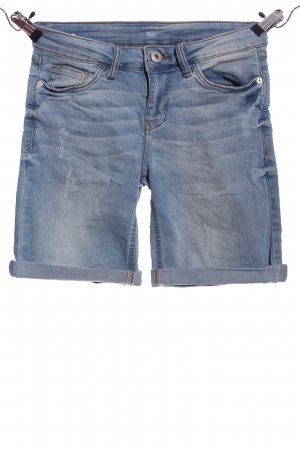 Takko Fashion Jeansshorts blau Casual-Look