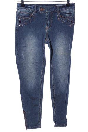 Takko Fashion Skinny Jeans blau Casual-Look