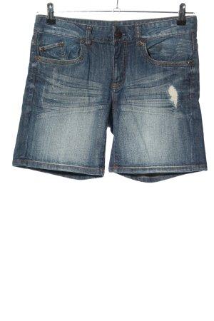 Takko Pantaloncino di jeans blu stile casual