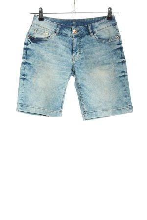 Takko Jeansshorts blau Casual-Look