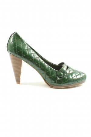 Takko  verde motivo trapuntato stile casual
